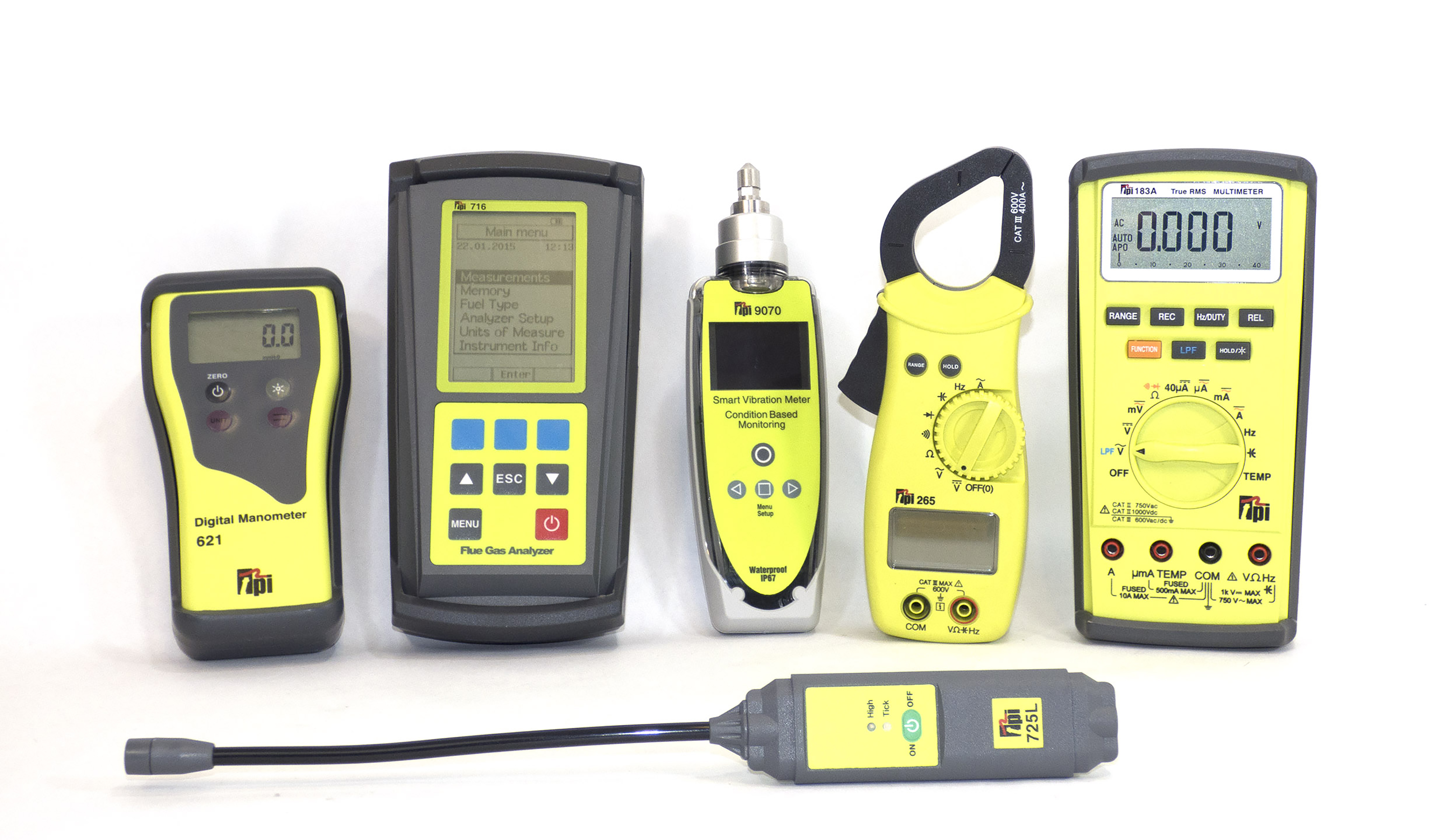 TPI Handheld measurement equipment
